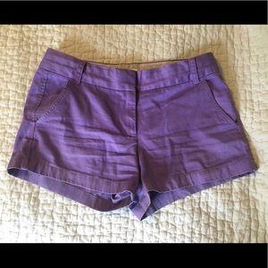 "J. Crew Shorts - J. Crew women's 3"" stretch chino shorts. Size 6."